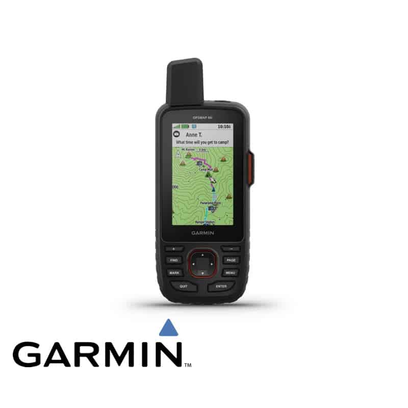 Garmin 66i GPS and satellite communicator